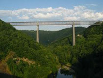 viaduc des Fades, pont ferrovière ,