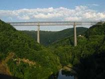 Viaduc, treinbrug, geocaching