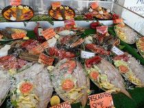 Brasilianischer Fischstand