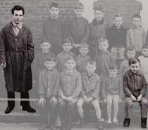Abbeville – Thuison :  École des garçons – Classe de CP - 1964