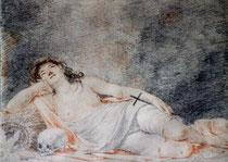 Claude Mellan, Madeleine pénitente © Musée d'Abbeville / Claire Tabbagh