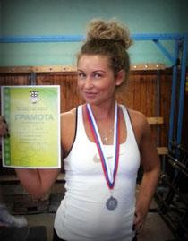 Ирина Гапоненко - 2 место
