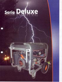 Serie Deluxe (Generadores Electricos a Gasolina)