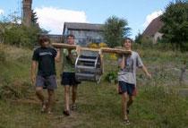 Das Wasserrad für Gerswalde