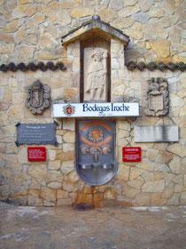 Der Weinbrunnen nahe der Kleinstadt Estella