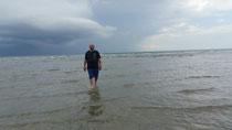 Das Gewitter zieht vorbei