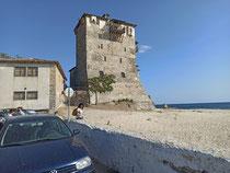 Der Turm von Ouranopoli