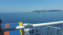 Auf der Fähre von Thasos nach Keramoti