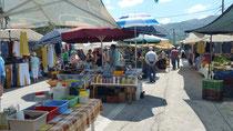 Bauernmarkt in Prinos