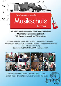 INTERNATIONALE MUSIKSCHULE LUZERN