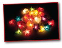 Dream lights handgefertigte Dekoration aus dem Papier des Maulbeerbaum hergestellt