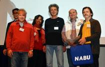 Preisübergabe von Egbert Badey und Andre Baumann an die Aktiven aus Engelsbrand bei der LVV 2014