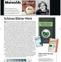 MGT in Maiwalds Mandat im Golf Journal 5/2013 (*Klick* - und es wird groß)