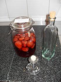 Lecker Erdbeere........