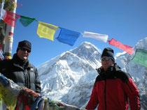 Karl und ich am Berg der Berge