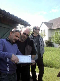 Musa Celik und Guy Paulen