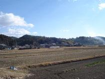 地元の田園風景(我が村)
