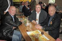 v.l. Karl- Heinz Föhlinger, Howard Jacques und Holger Barkowsky