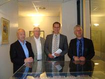 Holger Barkowsky, Howard Jacques, Thomas Städtler und Matthias Groote