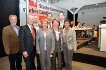 Von links nach rechts: Klaus Böther (KV WHV), Matthias Groote (MdEP), Volker Block (KV WHV), Karin Evers-Meyer (MdB), Olaf Lies (MdL), Hanne Modder, Torsten Frank (KV WHV), Christine Will(KV WHV) .