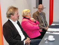 Foto: Karl Finke (links), Cornelia Rundt und Detlef Tanke