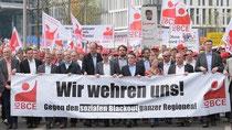 Pro Kohle-Demo in Berlin