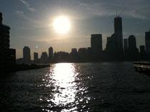 2012年4月マトリックス・エナジェティクスレベル4セミナーin ジャージーシティ(アメリカ)セミナー会場からの光景