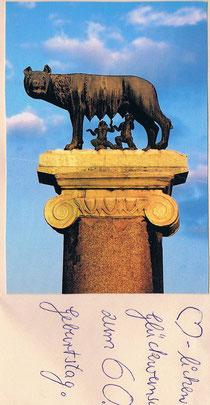Schon in Rom?