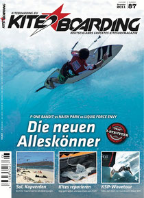 kiteboarding.de 8/2011 cover