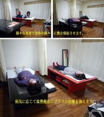 治療現場で使用されている温熱