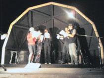 「ハーフドーム」での屋外コンサート