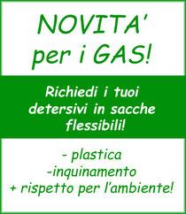 Novità per i GAS