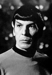 Leonard Nimoy als Mr. Spock