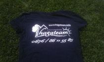 Neues T-Shirt, neue Mitarbeiterin