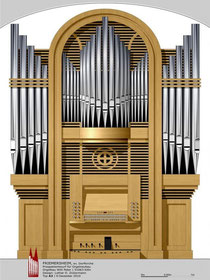 Orgel Dorfkirche, Friemersheim