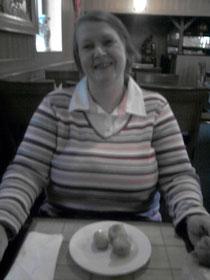 """Das letzte Foto von meiner Frau - entstanden am 19.8.2014. Zum Ende der Sommerferien waren wir in dem chinesischen Restaurant """"Tang Dynastie"""" in Bergheim/Erft mittags essen."""