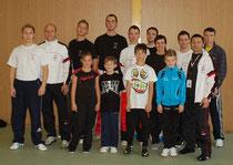 Teilnehmer der internationalen bayerischen Meisterschaft in Schweinfurt am 05.11.2011