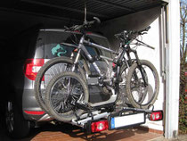 Autoträger mit Fahrrädern