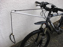 Kunstoffrohr als Bike-Antenne