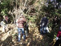 あかみ幼稚園裏山の雑木林