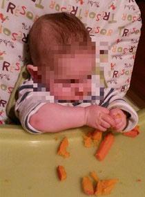 BLW Baby led weaning Beikost breifrei Erfahrungen Rezepte Start Anfang Blog