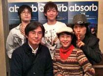 2010.12.5大阪南堀江Knaveにて番組スタッフと