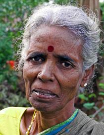 Würdige Ureinwohner-Frau