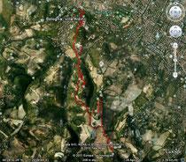 Percorso su Google Earth
