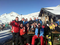 Gruppenfoto RT34 Skimeeting