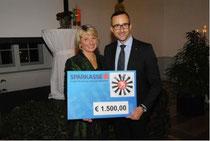 v.l.n.r.: Bgm Maria Pachner und RT34-Präsident Mag. Patrick Hochhauser