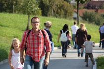 Auch unsere Ehrenpräsident Christian Mössenböck ist immer mit dabei.