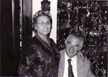 Jean-Michel Guirao et sa femme, Ninette (née Alonso)