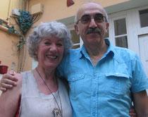 Jean-Pierre et moi, Nimes 2012, ph. Oz