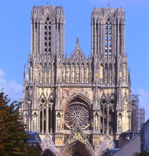 Kathedrale von Reims © ATOUT FRANCE/CRT Champagne-Ardenne/Oxley